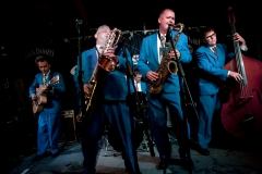 England, Birmingham, 20-07-10 Birmingham International Jazz and Blues Festival 2010. King Pleasure and the Biscuit Boys. © Foto Merlin Daleman